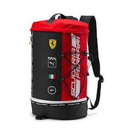 Ferrari Fanwear RCT Backpack, Rosso Corsa, small
