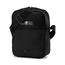 PUMA x Ferrari Large Portable Shoulder Bag, Puma Black, small