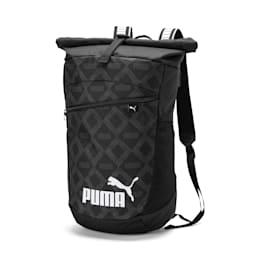 Sac à dos Allover-Print Roll-Top, Puma Black-AOP, small