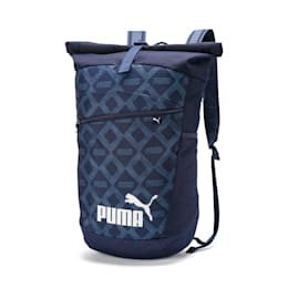 All-Over Printed Roll Top Backpack