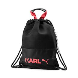 PUMA x KARL LAGERFELD Backpack Tote Bag, Puma Black, small-SEA