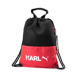 PUMA x KARL LAGERFELD Backpack Tote, High Risk Red-Puma Black, small