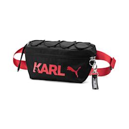 PUMA x KARL LAGERFELD Waist Bag, Puma Black, small