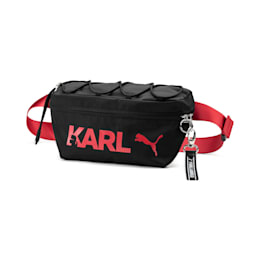 PUMA x KARL LAGERFELD Waist Bag, Puma Black, small-SEA