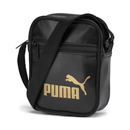 Bolso de hombro portátil de mujer Up, Puma Black-gold, small