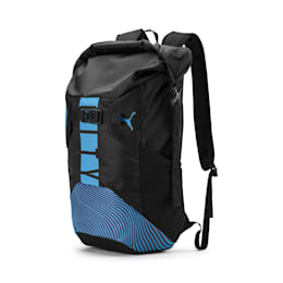 Man City Rolltop Backpack