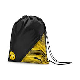 Saco para o ginásio BVB Football Culture, Puma Black-Cyber Yellow, small
