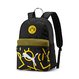 BVB DNA Backpack, Puma Black-Cyber Yellow, small-IND