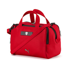 Scuderia Ferrari Lifestyle Women's Handbag, Rosso Corsa, small-SEA