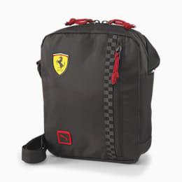 Scuderia Ferrari Fanwear Portable Shoulder Bag, Puma Black, small-SEA