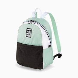 Prime Street Women's Backpack, Mist Green-Black-White, small