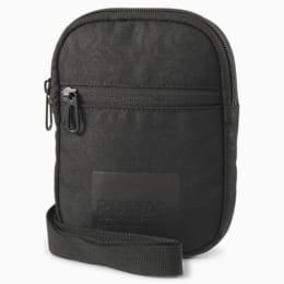 Evolution Street Portable Shoulder Bag, Puma Black-AOP, small