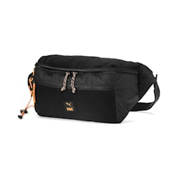 PUMA x HELLY HANSEN Oversized Waist Bag, Puma Black, small