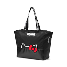 PUMA x HELLO KITTY Large Shopper, Puma Black, small