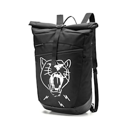 PUMA Basketball Backpack, Puma Black, small