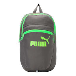 PUMA Tric Backpack, QUIET SHADE-Green Gecko, small-IND