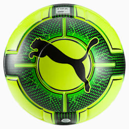 evoPOWER Vigor 1.3 Statement Football, Yellow-Green Gecko-Black, small-IND