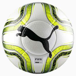 Bola de futebol FINAL 1 Statement FIFA Pro, White-Lemon Tonic-Black, small