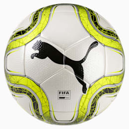FINAL 2 Match FIFA Q Pro Fußball, White-Lemon Tonic-Black, small