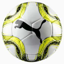 FINAL 5 HS Training Football, White-Lemon Tonic-Black, small-IND