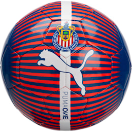 Chivas Puma ONE ball, New Navy-Puma Red-White, small