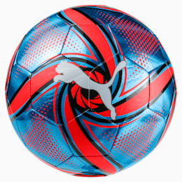 FUTURE Flare Fußball, Bleu Azur-Red Blast-Black, small