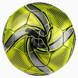 FUTURE Flare mini ball, Fluo Yellow-Black-Silver, small