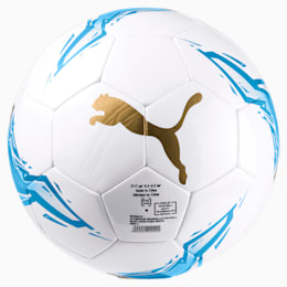 Olympique de Marseille Fan Ball, Bleu Azur-Puma White, small