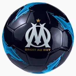 Olympique de Marseille Fan Ball, Peacoat-Bleu Azur, small