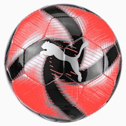 FUTURE Flare Mini Training Ball, Nrgy Red-Asphalt-Black-White, small