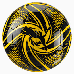 BVB FUTURE Flare Fan Ball, Puma Black-Cyber Yellow, small