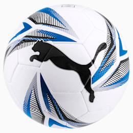 Bola de futebol ftblPLAY Big Cat, White-Black-Electric Blue, small