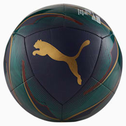 FIGC Icon Soccer Ball, Ponderosa Pine-Peacoat, small
