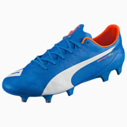 evoSPEED SL FG Football Boots, electric blue-white-orange, small-IND