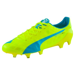 evoSPEED SL FG Football Boots, yellow-blue-white, small-IND