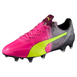 evoSPEED 1.5 FG Football Boots, pink glo-safety yellow-black, small-IND