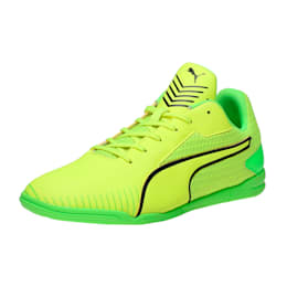 365 CT Men's Court Football Shoes, yellow-black-green, small-IND