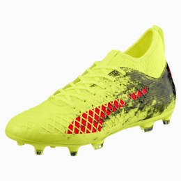 FUTURE 18.3 FG/AG Men's Soccer Cleats, Yellow-Red-Black, small