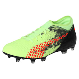 FUTURE 18.4 FG/AG Men's Football Boots, Yellow-Red-Black, small-IND