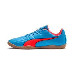 Classico C II Sala Men's Football Boots, Bleu Azur-Red Blast-Black, small-IND