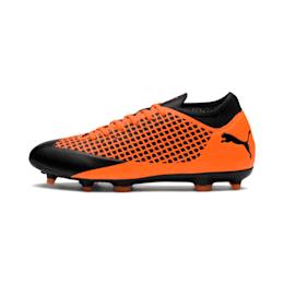 FUTURE 2.4 FG/AG Men's Football Boots, Puma Black-Shocking Orange, small-IND