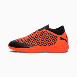 FUTURE 2.4 TT Kids' Football Boots, Black-Orange, small-IND