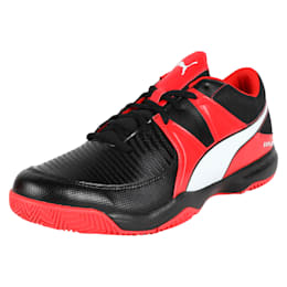 Explode 3 Men's Indoor Training Shoes, Black-Red-White, small-IND