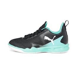 Rise XT 4 Youth Sneakers, Black-Green-White, small-IND