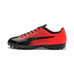 PUMA Spirit II TT Men's Soccer Shoes, Puma Black-Nrgy Red, small
