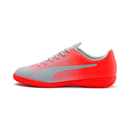 PUMA Spirit II IT Men's Soccer Shoes, Glacial Blue-Nrgy Red, small