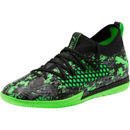 FUTURE 19.3 NETFIT IT Men's Soccer Shoes, Black-Gray-Green Gecko, small