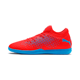 FUTURE 19.4 IT Men's Football Boots, Red Blast-Bleu Azur, small-SEA