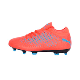 FUTURE 19.4 FG/AG Youth Football Boots, Red Blast-Bleu Azur, small-IND
