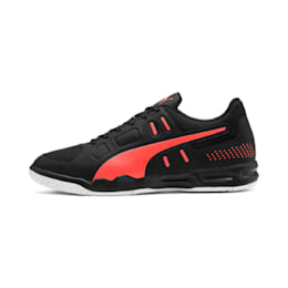 Auriz Indoor Sport Men's Shoes, Black-Nrgy Red-Puma White, small-IND